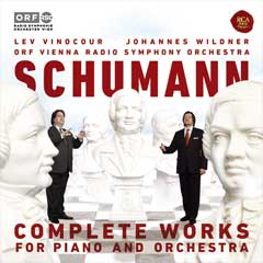 Vinocour CD: Schumann - Complete Works For Piano And Orchestra